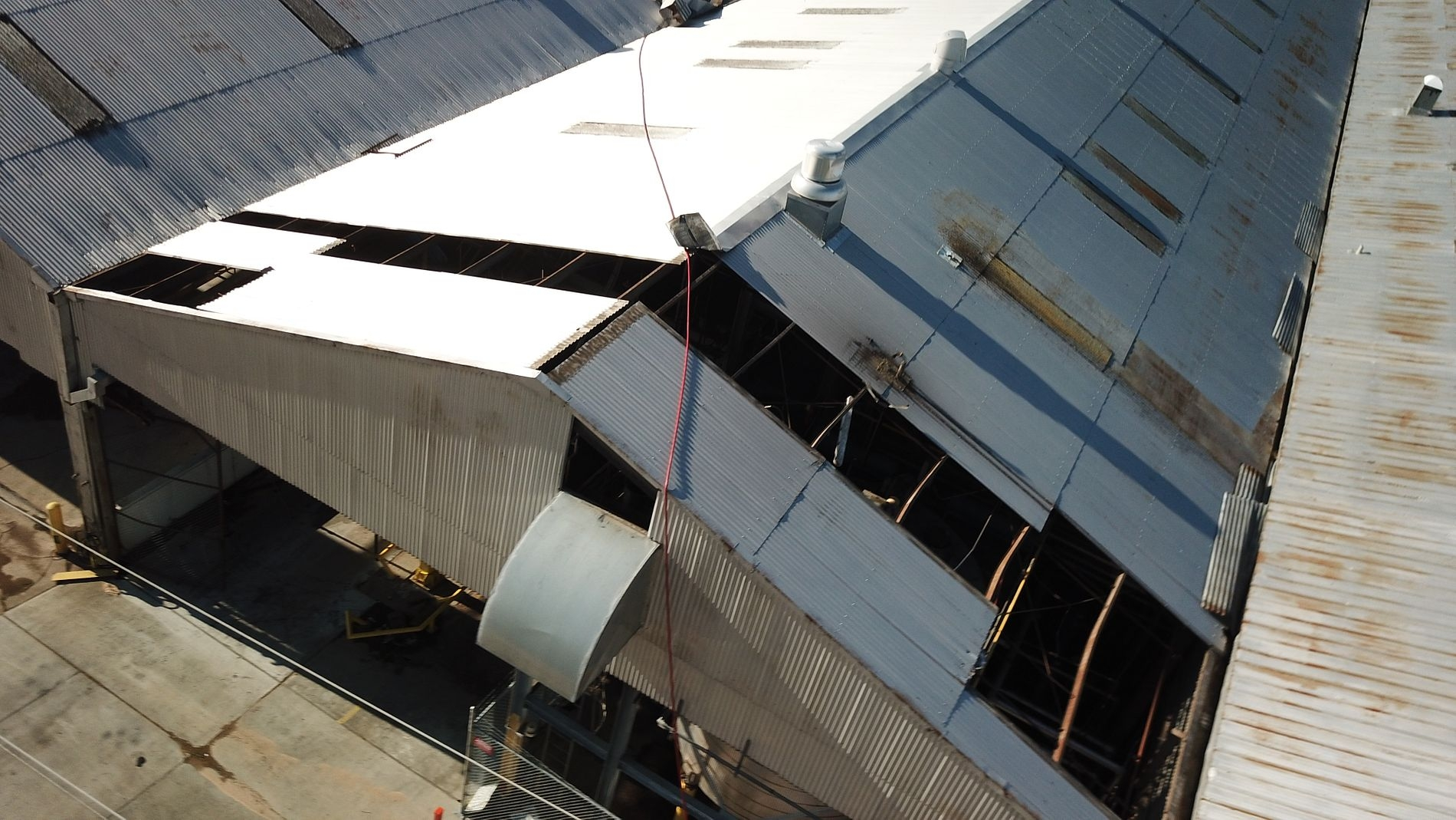 Loading Dock Roof